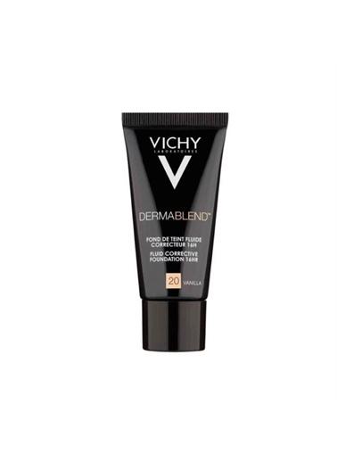 Vichy Vichy Dermablend Kapatici Etkili Tüm Cilt Tipleri İÇin Likit Fondöten 20 Vanilla 30 ml Ten